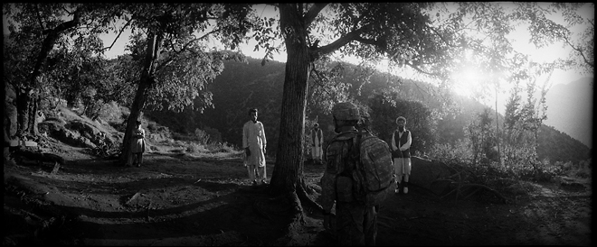 1st prize General News Stories<br /> <b>Balazs Gardi</b>, Hungary, VII Network<br /> <i>The Valley, Operation Rock Avalanche, Afghanistan, October</i>