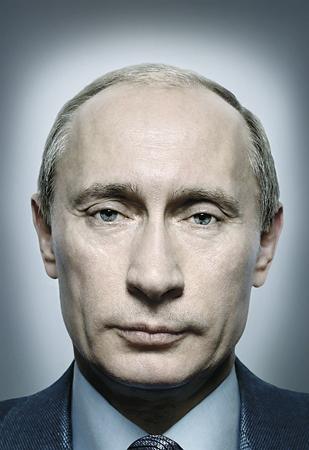 1st prize Portraits Singles<br /> <b>Platon</b>, UK, for Time magazine<br /> <i>President Putin of Russia </i>