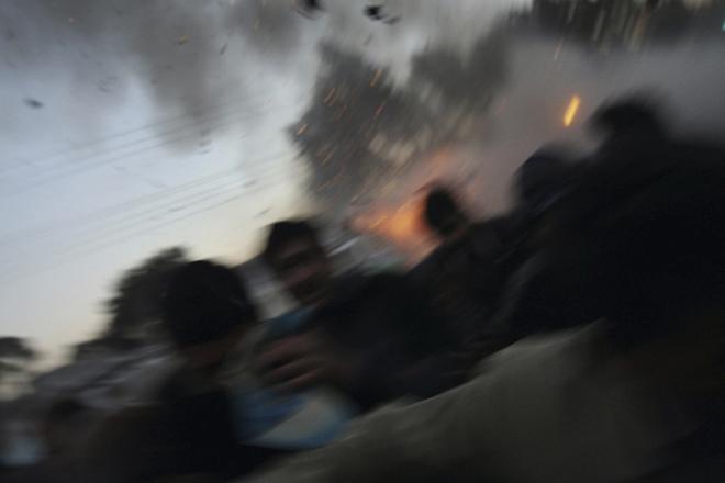 <p><nobr>1-е</nobr> место / Горячие новости / одиночные фотографии<br /> <b>Джон Мур (John Moore),</b> США, Getty Images<br /> Убийство Беназир Бхутто, Равальпинди, Пакистан, 27&nbsp;декабря</p>