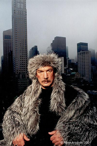 ©Павел Антонов. «Юрий Горбачев, художник, США»