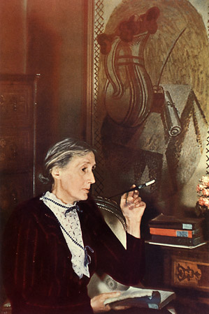 Virginia Woolf &copy; Gisele Freund<br />