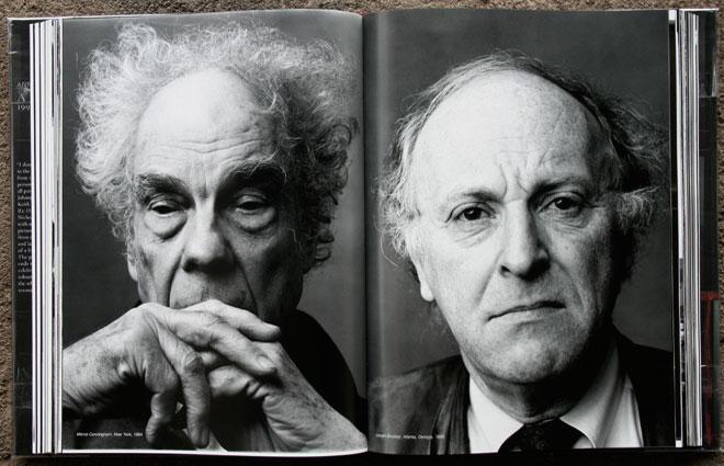 Merce Cunningham, New York, 1994<br /> Joseph Brodsky, Atlanta, Georgia, 1995