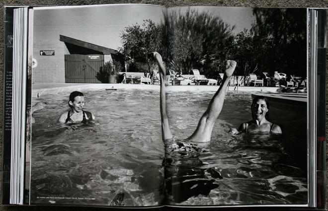 My mother with Paula and Barbara, Canyon Ranch, Tucson, Arizona, 1994