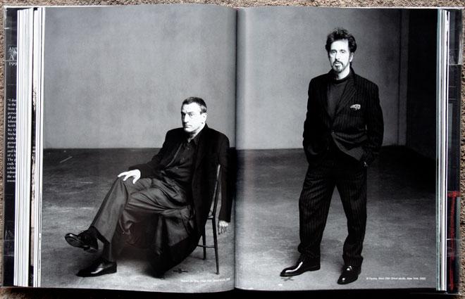 Robert e Niro, West 26th Street studio, 2000<br /> Al Pacino, West 26th Street studio, New York, 2000