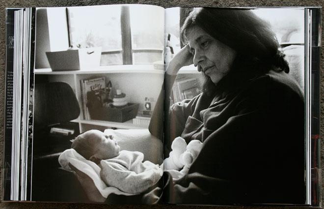 Susan with Sarah, West 23rd Street, October 2001
