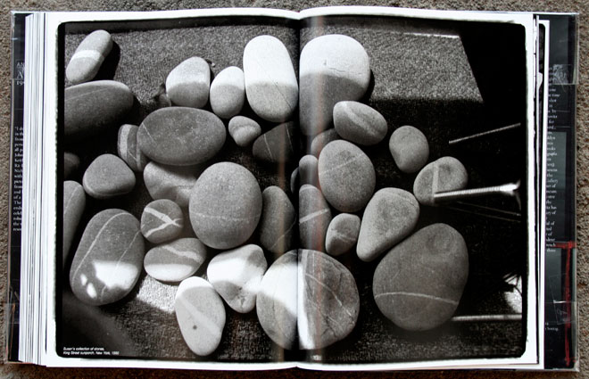 Susn&rsquo;s collection of stones,<br /> King Street sunporch, New York, 1990