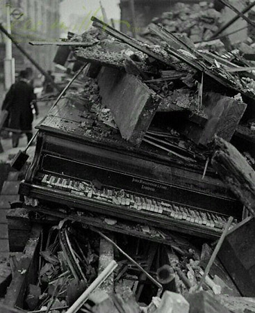 Piano by Broadwood, London, 1940