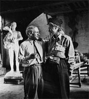 Пабло Пикассо и Ли Миллер, 1944