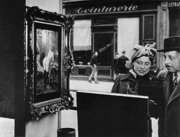 Sidelong glance<br />