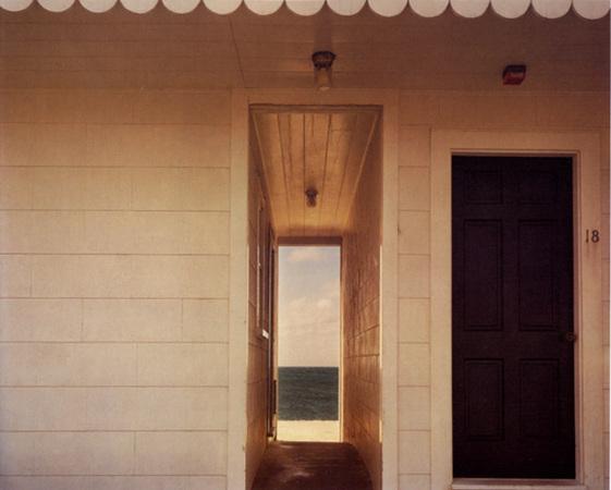Doorway to the sea, Provincetown