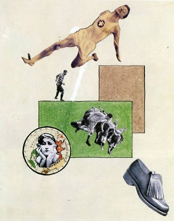Apotheosis of Sport - Evzen Markalous, 1927. Photomontage. Museum Folkwang, Essen.