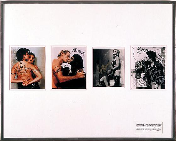 <p>Untitled (Publicity), 2000<br /> Four publicity photographs<br /> 331/4×41 1/4inches</p>