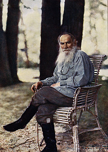 С. М. Прокудин-Горский. Лев Толстой. 1908