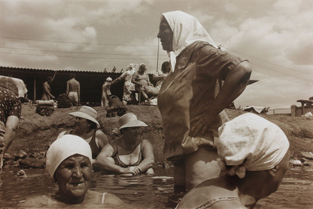 Борис Михайлов<br /> Изсерии «Соляные Озера»<br /> 1986