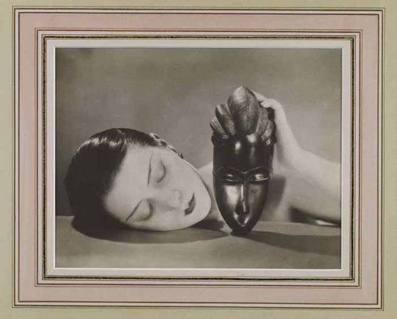 Man Ray. The African Mask (Noir et Blanche). 1926