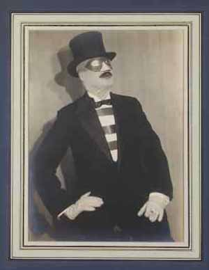 Paul Outerbridge. Self-Portrait. 1930