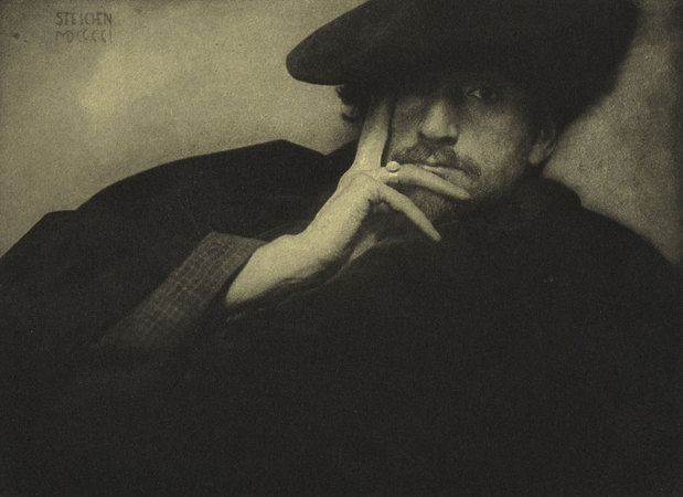 Edward Steichen. Solitude – F. Holland Day (Soledad-F.Holland Day) , 1901.