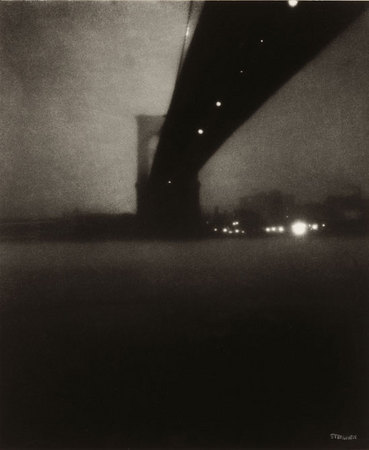 Edward Steichen. Brooklyn Bridge (Puente de Brooklyn), 1903.