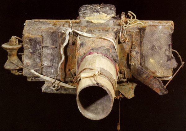 Одна из самодельных камер Мирослава Тихого.