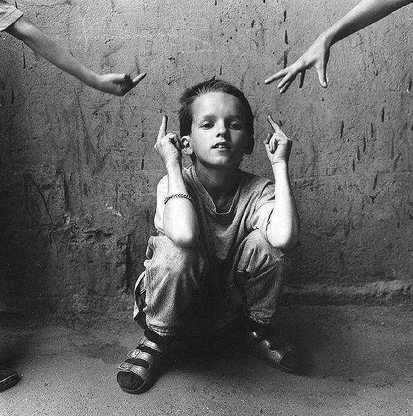 ©Евгений Мохорев. «Мальчик с Моховой улицы»