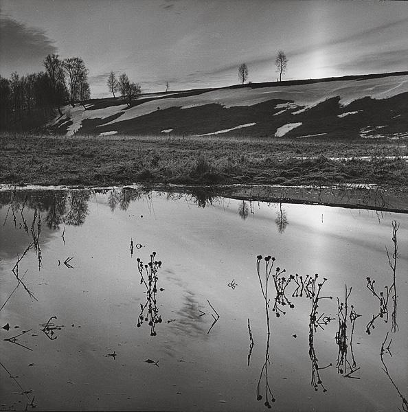©Галина Лукьянова. «Река Протва. 1992»