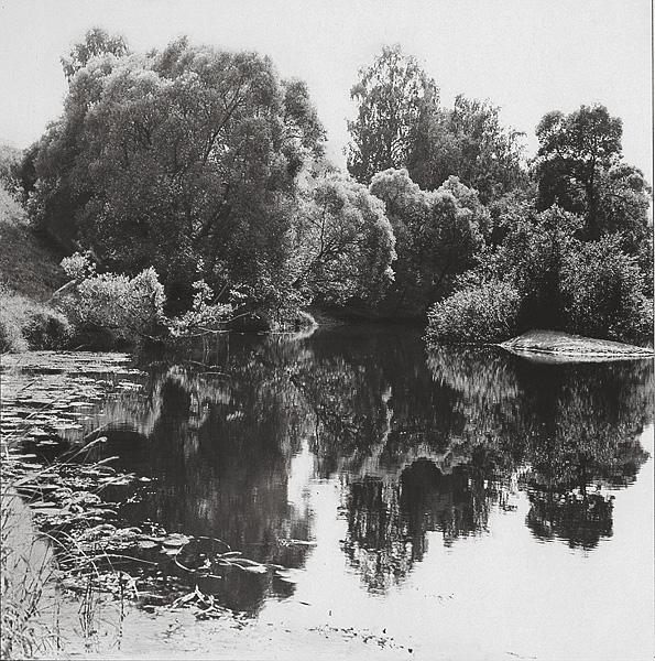 ©Галина Лукьянова. «Река Протва. 1987»