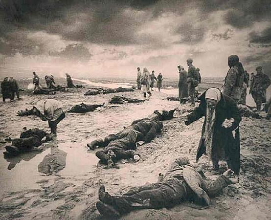 Дмитрий Бальтерманц «Горе», 1944
