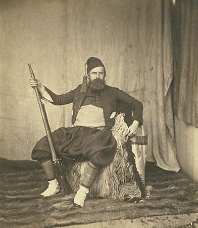 Роджер Фентон. Зуав. Крымская война. 1855