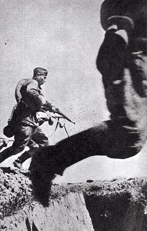 Марк Марков-Гринберг «Наступление», 1944