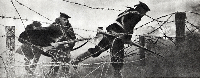 А. Межуев. Под Севастополем. 1942