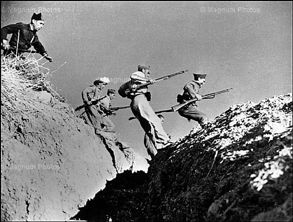 Роберт Капа «Атака», 1936