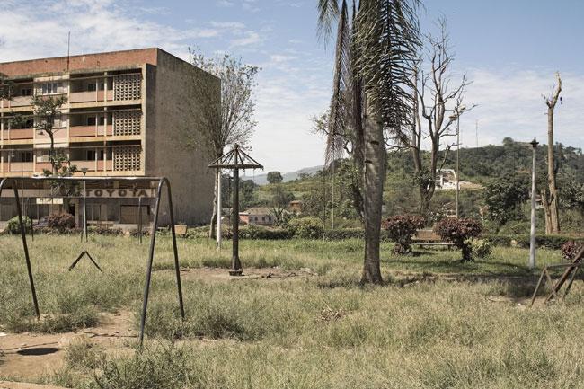 Guy Tillim Park in the centre of town, Gabela, Angola, 2008