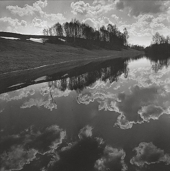 ©Галина Лукьянова. «Река Протва. 1991»