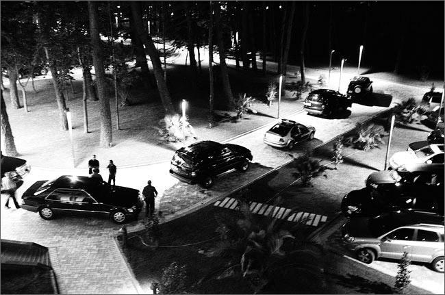 ©Игорь Мухин. «Кортеж Президента Михаила Саакашвили. Кобулети. Июль 2008»