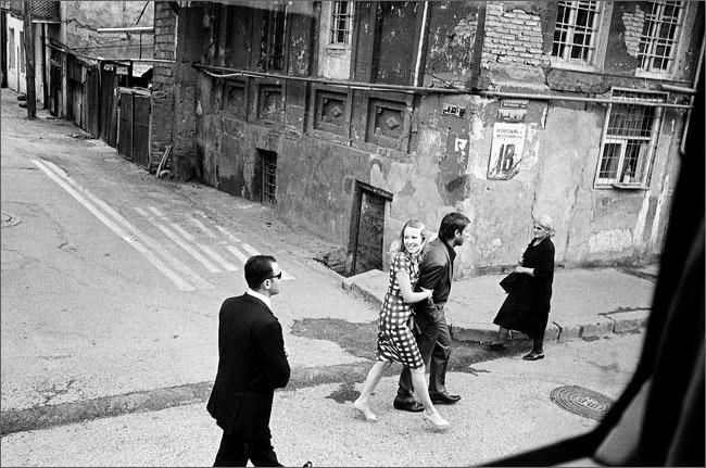 ©Игорь Мухин. «Ксения Собчак. Тбилиси. Июнь 2008»