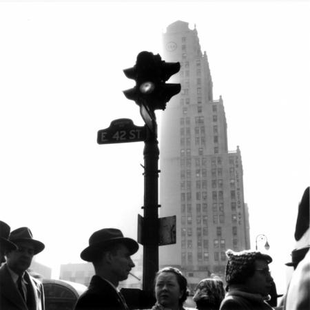 Heinrich Heidersberger. New York, 1954. Schwarzweiß-Fotografie . 9013/9.1. © Heinrich Heidersberger/artur, www.heidersberger.de