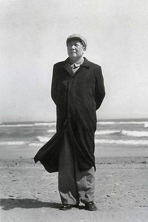 Хоу Бо «Chairman Mao at Beidaihe Beach Hebei», 1954