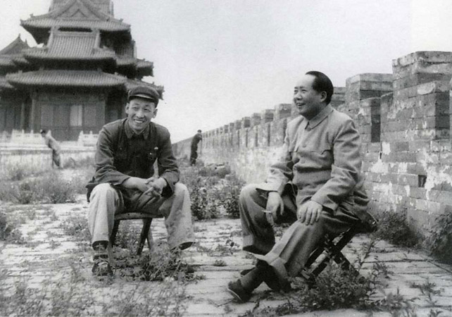Хоу Бо «Chairman Mao in the Forbidden city Beijing»