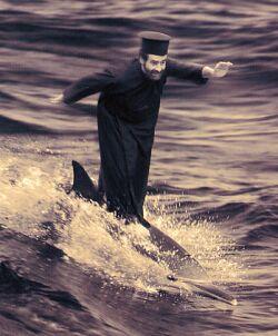 Хуан Фонкуберта «Karelia Dolphin Serfing»