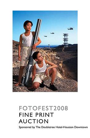 На обложке каталога благотворительно аукциона FotoFest 2008 (14 марта 2008, Хьюстон) – работа AES+F, участников официальной выставочной программы биеннале 2006 года. Это произведение стало топ-лотом аукциона и было продано за 11 500 долларов, на 11,5 % дороже заявленного эстимейта.