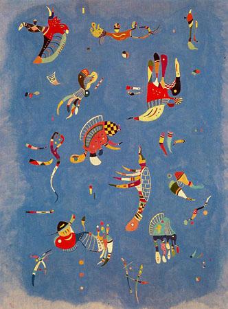 Kandinsky «Azul celeste»