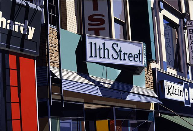 Robert Cottingham «11th street»