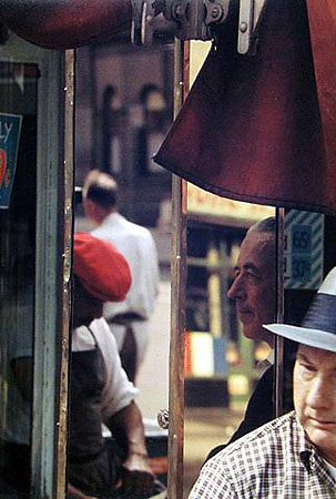 Saul Leiter «Reflection»