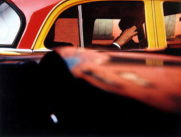 Saul Leiter «Taxi, New York»