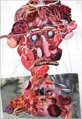 Тони Мателли «Meat Head. (1st part of diptych)»