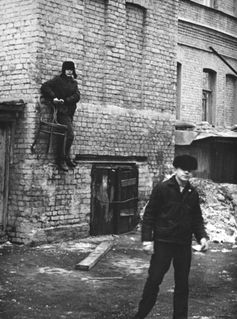 Михаил Дашевский. Баскетбол.  Москва, 70-е годы
