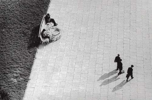 Антанас Суткус «Улицы Вильнюса, вид с крыши, 1», 1963