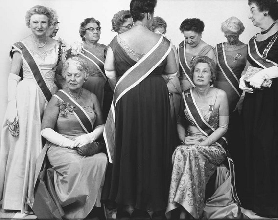 The Generals of the Daughters of the American Revolution, DAR Convention,   Mayflower Hotel, Washington, D.C., October 15, 1963, © 2008 The Richard Avedon Foundation.