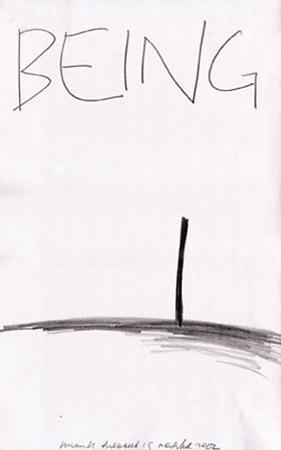 """Никита Алексеев<br /> Из серии """"Предсмертные рисунки"""" 2002<br /> бумага, графитный карандаш. 40 х 30 см"""