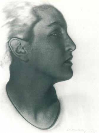 Man Ray, Portrait of Meret Oppenheim, 1933 © VBK Wien, 2007/08